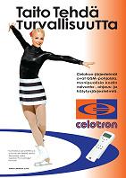 Kiira Korpi luottaa kotimaiseen, Celotron Pro Controlleriin.