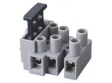 Connector block with fuse